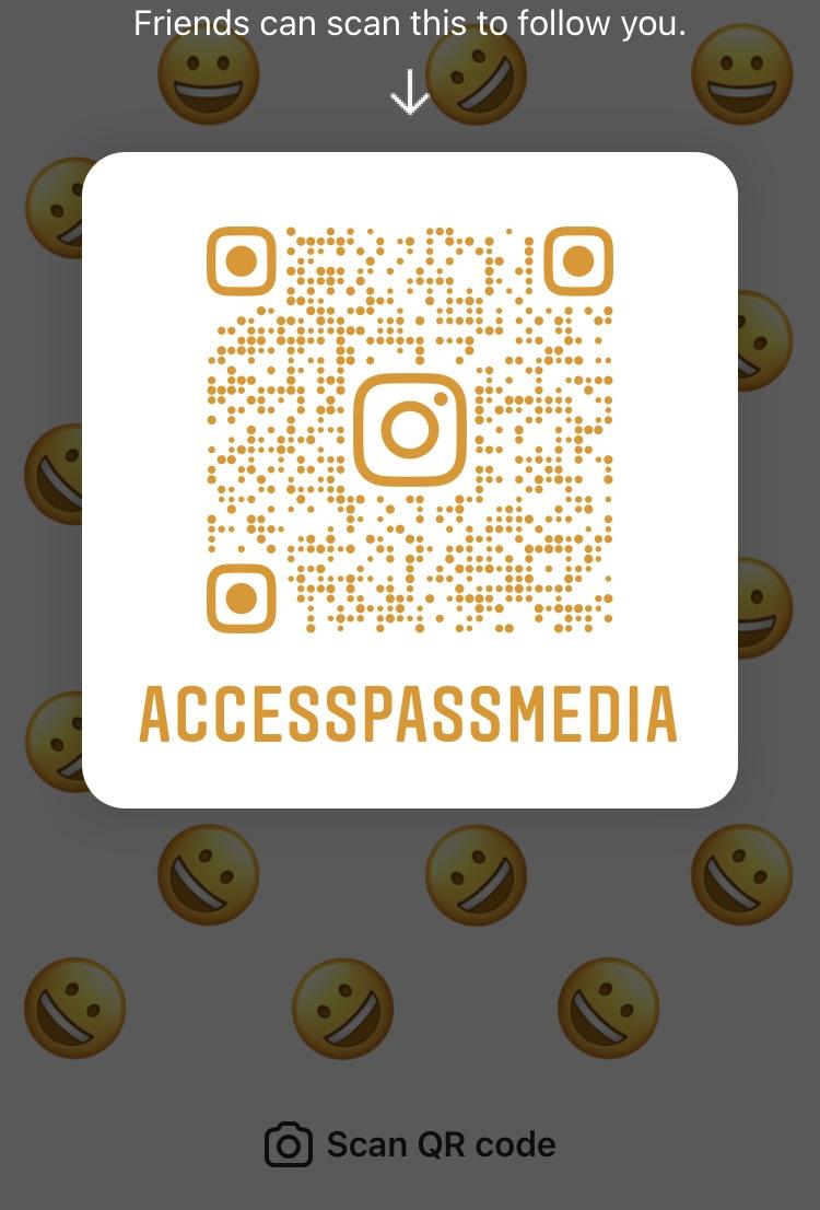 AccessPassMedia IG QR Code