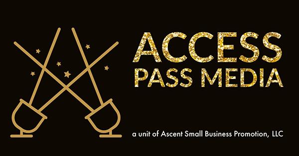 AccessPassMedia logo solid
